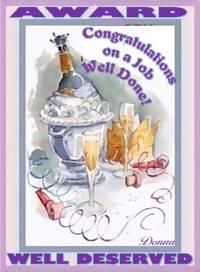 Champagne Award