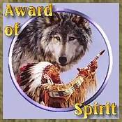 Award of Spirit