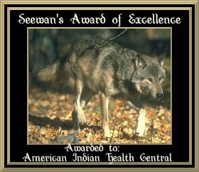 Seewan's Award of Excellence