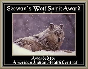 Seewan's Wolf Spirit Award